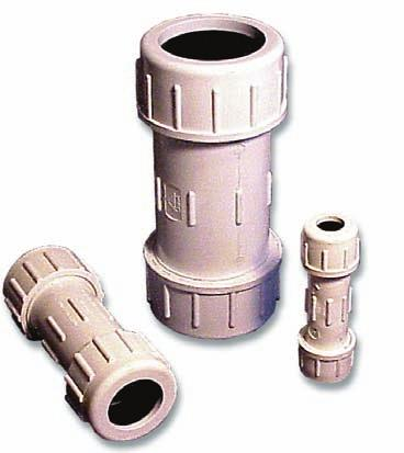 C O N D U I T ConQuest Conduit Couplings Conduit Compression Couplings E-Loc Couplings Double E-Loc Couplings Conduit Accessories Description Manufacturers Product Part Number Code