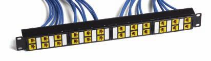 C O P P E R S O L U T I O N S MOD-V Patch Panels Glossary/Index Packaging Conduit Multi-Conductor Coax Fiber MOD Patch Uniprise Panels The Uniprise UNP-MOD-V-24P and UNP-MOD-V-48P Modular Panels are