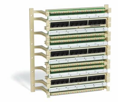 C O P P E R S O L U T I O N S 110 Solutions Jack Panels Uniprise 110 Jack Panels are a convenient way to interface between 110-type wiring and RJ45 data jacks.