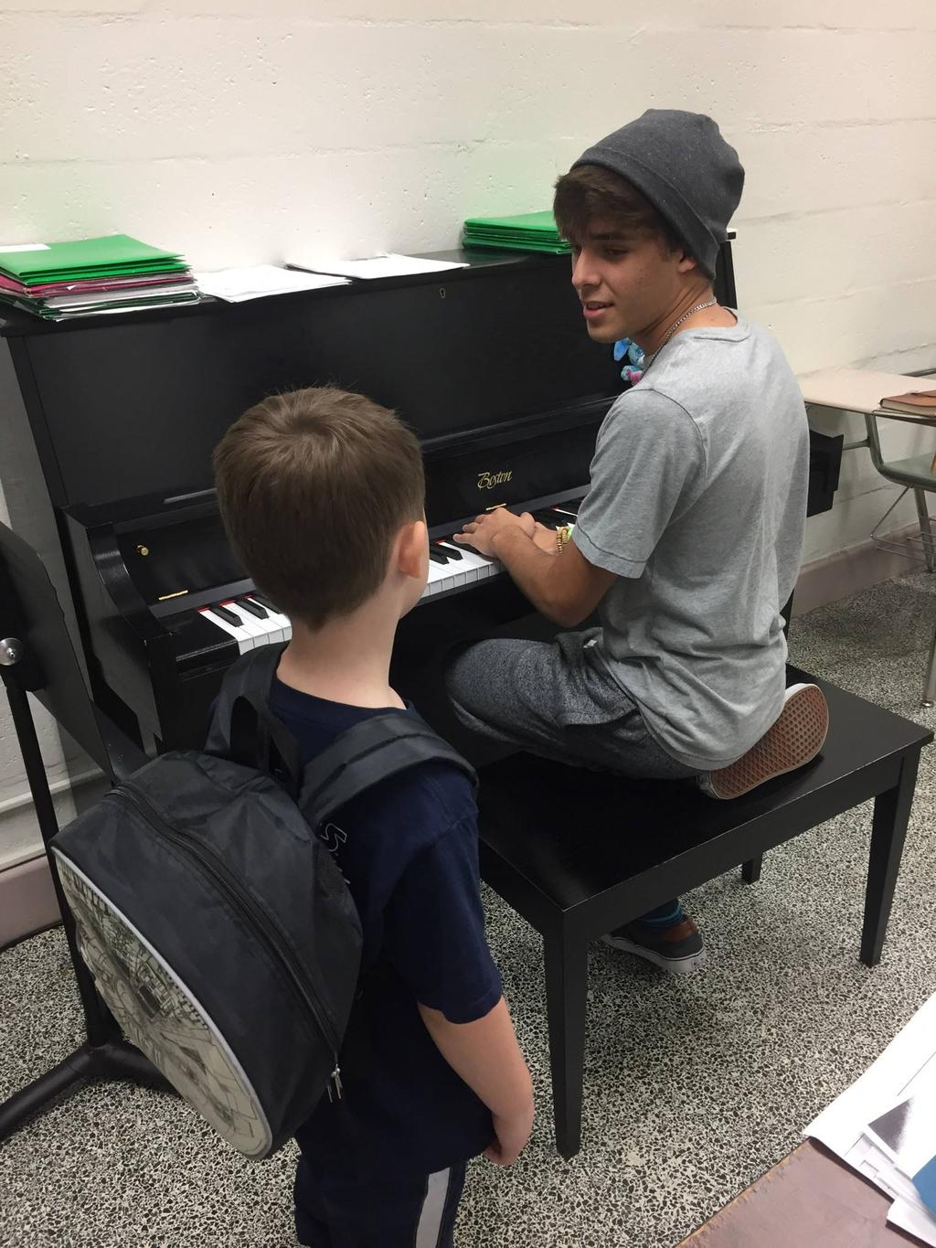 Additionally, if they are taking private lessons, this is a great way for them to add social aspect to their lessons.