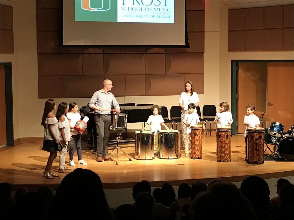 RHYTHM CANES: Students perform a wide variety of musical styles on an assortment of contemporary and world percussion instruments.