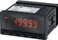 K3MA-J, -L, -F Digital Panel Meters X324 Digital Panel Meters Offer Built-in Outputs The K3MA series is available as a process meter, a frequency/rate meter or a temperature meter.
