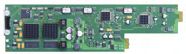 SDTV VIDEO A/D CONVERSION Dual Composite Video to SDI Decoders and Frame Syncs SDTV VIDEO A/D CONVERSION Component Video RGB / YUV to SDI Converter C AD 5122 2 independent conversion channels High