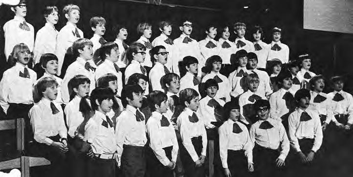 Madison Boychoir, 1973 Friends and Donors Madison Youth Choirs is exceedingly grateful to the foundations, businesses and individuals who participate in our mission by making a financial contribution.