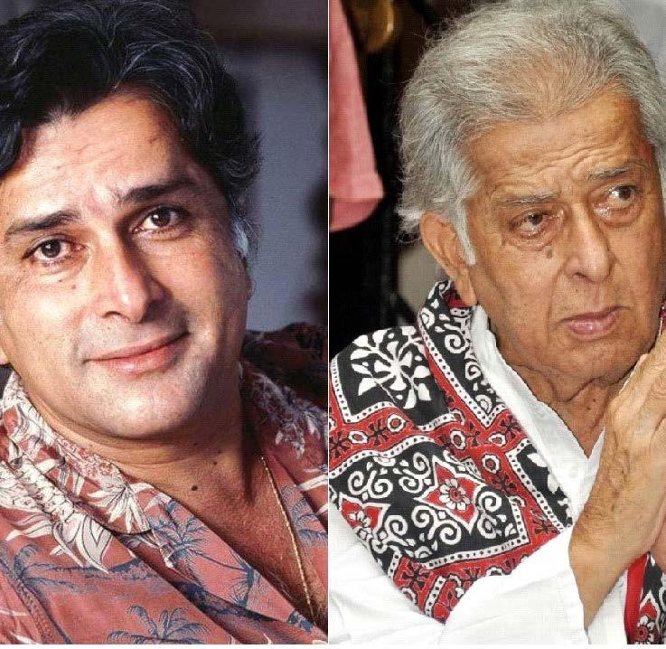 SHASHI KAPOOR Balbir Prithviraj Kapoor, aka Shashi Kapoor, was one of the renowned and harmin artist of n ian inema a eare in more than films lar el in i films su h as eewar ama aram a hi a hie at am