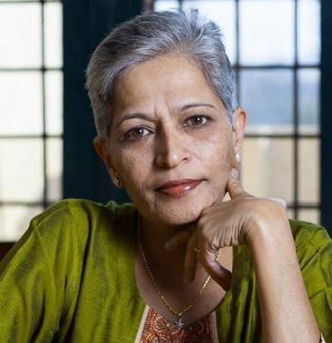 GAURI LANKESH Gauri Lankesh was one of Karnataka s most prominent and fearless journalists. She was shot dead outside her house in Bengaluru on the night of 5th September, 2017.
