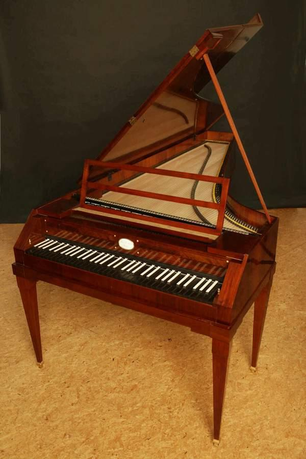 The Pianoforte Here is a recording of an authentic Classical era pianoforte.