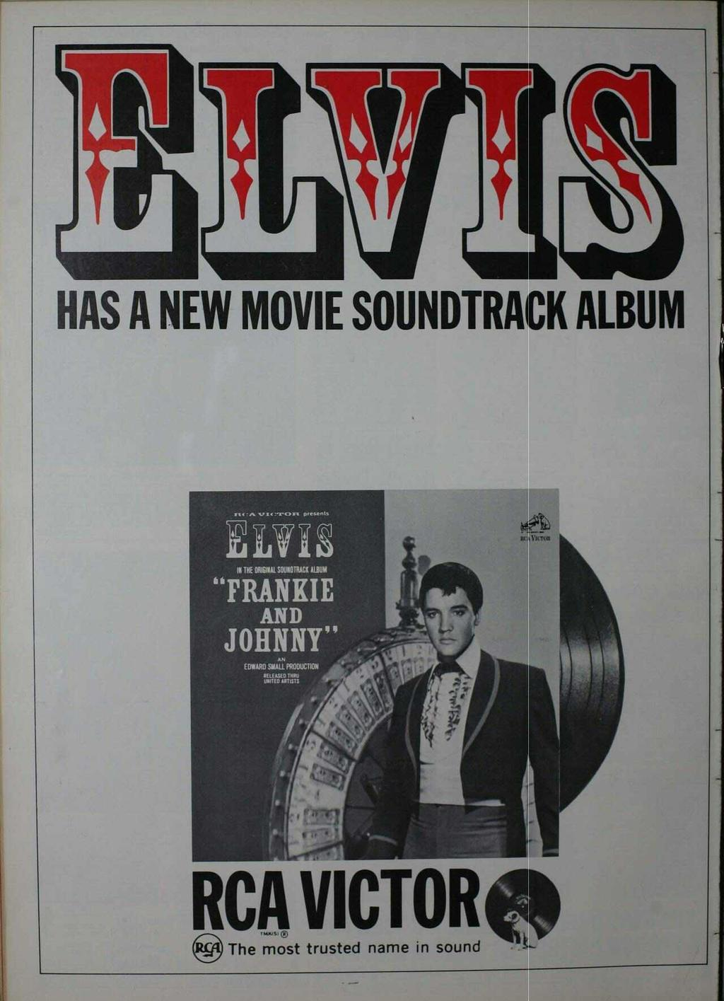 "!1 i HAS A NEW MOVIE SOUNDTRACK ALBUM s4'a V[c'rc >za presents LA718 IN THE ORIGINAL SOUNDTRACK ALBUM ""FRANKIE"