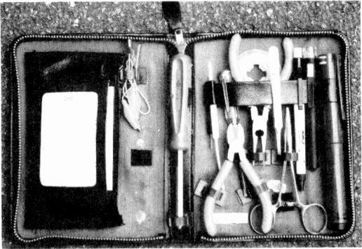 An up-to-date field servicing kit Harold B. Berkley A few years ago I wrote an article on tool kits for TV field servicing.