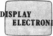 . SPLAY ELECTRON CS LTD. * Do you use cathode ray tubes? * Can't find a replace - ment or shocked by the cost? * It may well be that a rebuilt tube will solve your problem.