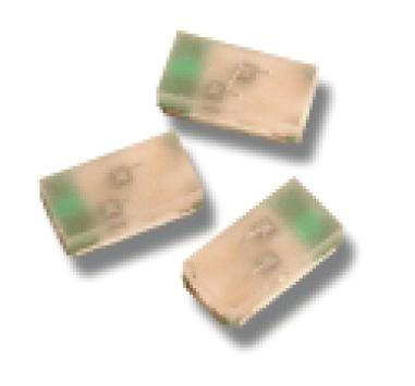 HSMF-C16x Miniature Bi-Color Surface Mount ChipLEDs Data Sheet Description This series of bi-color ChipLEDs is designed with the smallest footprint to achieve high density of components on board.