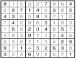The grid is also divided into nine (3x3)