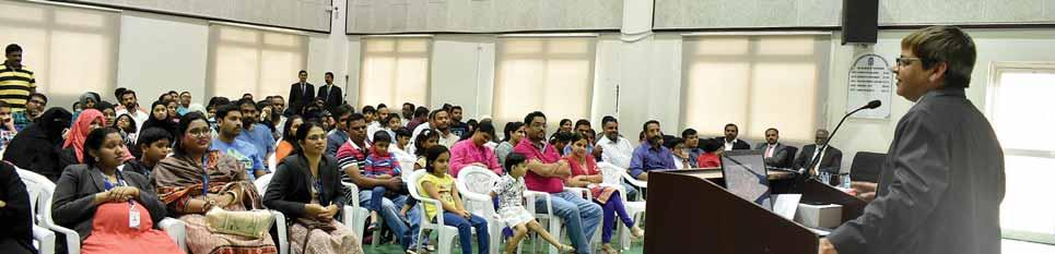 6 GULF TIMES Sunday, May 13, 2018 SIS Junior Section holds orientation for parents The junior section of Shantiniketan Indian School (SIS) recently organised an orientation session for the parents to