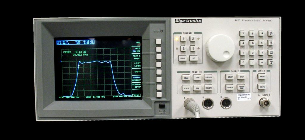 Model 8003 Precision Scalar Network Analyzer combines a 90