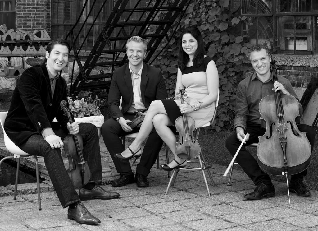 Pacifica Quartet Recognized for its virtuosity, exuberant performance style, and often-daring repertory choices, over the past two decades the Pacifica Quartet has gained international stature as one