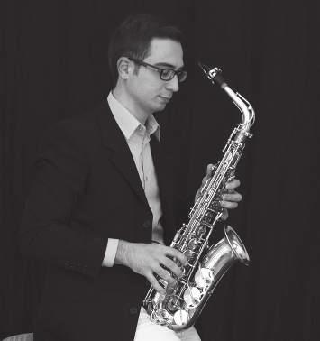 THURSDAY 12/07 /2018 17:30 JAZZ & CABARET CLUB KONTESA Four Saxophone Quartet 17:45 STUDENT CENTRE MM Center Andrea Carrozzo Mark Watkins, soprano saxophone Ray Smith, alto saxophone Sandon Mayhew,