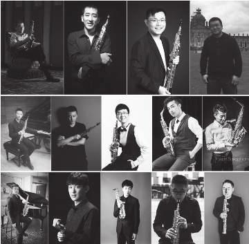 18:30 CROATIAN NATIONAL THEATRE The United Saxophone Ensemble of Universities and Music Conservatories in China YUSHENG LEE, CONDUCTOR Tong Yang, Heng Wang, Zeyu Feng, Hefeng Fan, Yukun Lu, Dayu Gao,