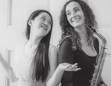 friday 13/07 /2018 9:00 ACADEMY OF MUSIC Svetislav Stančić Hall Duo Altera STUDENT CENTRE MM Center Team Bando Tereza Novotná, saxophone Alice Lin, piano Erwin Schulhof (1894-1942): Hot Sonate Karel