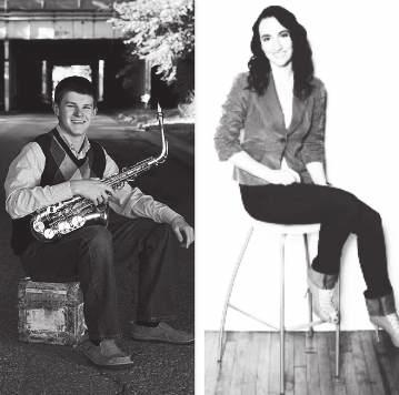 11:15 ACADEMY OF MUSIC Vaclav Huml Hall Logan Banister and Casey Dierlam Roberto Todini, saxophone Michele Bianchini,
