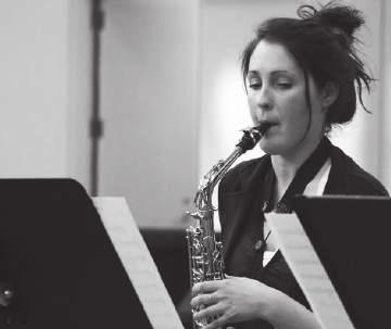 friday 13/07 /2018 18:30 STUDENT CENTER MM Center Jennifer Lachaine Philippe Béland (1987), Jennifer Lachaine (1988): Unconditioning the Sax (premiere performance) About the Program The music
