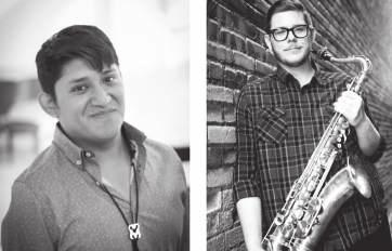 friday 13/07 /2018 20:30 STUDENT CENTER Theatre &TD Semicircular Hall Amphi Duo 21:00 MUSEUM OF ARTS AND CRAFTS Marici Saxes Matt London, saxophone Jefery Kyle Hutchins, saxophone Matt London (1985):