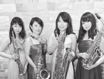Big Hall Parero Saxophone Quartet Improvisation for Unknown Space Rui Ozawa, soprano