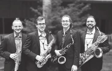 saturday 14/07 /2018 13:30 STUDENT CENTER Theatre &TD Big Hall Elysian Quartet STUDENT CENTER Theatre &TD Semicircular Hall Vagues Saxophone Quartet ELYSIAN QUARTET Jared Waters, soprano saxophone