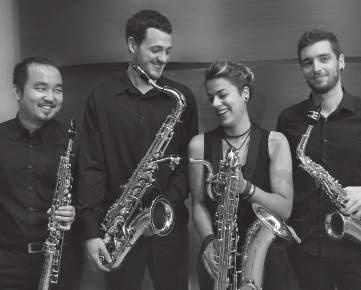tuesday 10/07 /2018 14:00 STUDENT CENTER Theatre &TD Big Hall Kugel Saxophone ensemble 14:30 ACADEMY OF MUSIC Fran Lhotka Hall Duonarchie Ding Zhang, soprano saxophone Carlos Tena González, alto