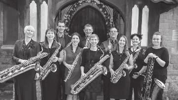 wednesday 11/07 /2018 10:00 STUDENT CENTRE Theatre &TD Big Hall Equinox Saxophone Ensemble Alistair Parnell, Nicola Pennill, Claire Tomsett-Rowe, Keri Degg, Chris Jolly, Lindsey Smith, Michelle