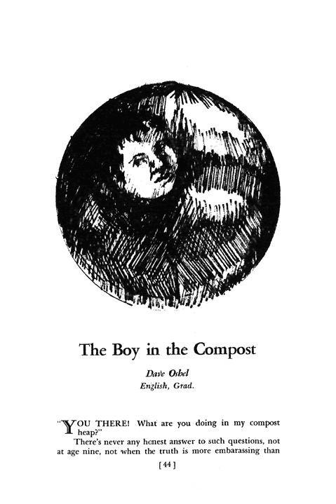 The Boy in the Compost Date Qfbel English, Gtad. Y OU THEREI Whit are you doing in my compost heap?