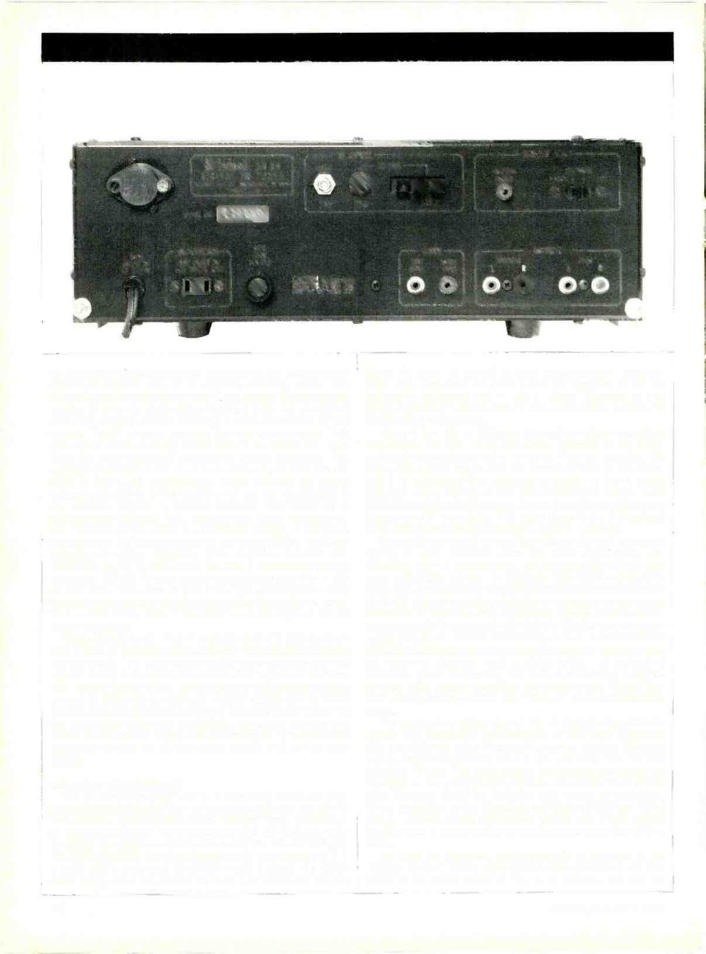Ultinlosh MR 80 DIGITAL FM TUNER M[INi05N tal.(nc. IINÜNAMiON. Ni 13403 SERIAL NO. MADE IN U.S A.