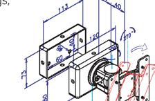 3' Wall mount Bracket mly fix on solid wall ets VESA standards mounting spec.