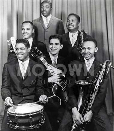 Funk Brothers Hidden house band at Motown in Detroit More technically-oriented, jazz background (compared to Stax)