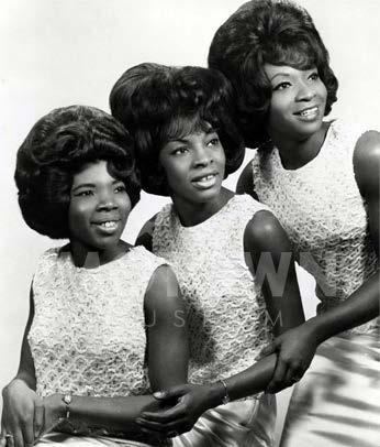 Martha Reeves & The Vandellas 1957-1972 (various names); 2010-Present Girl Group Holland-Dozier-Holland