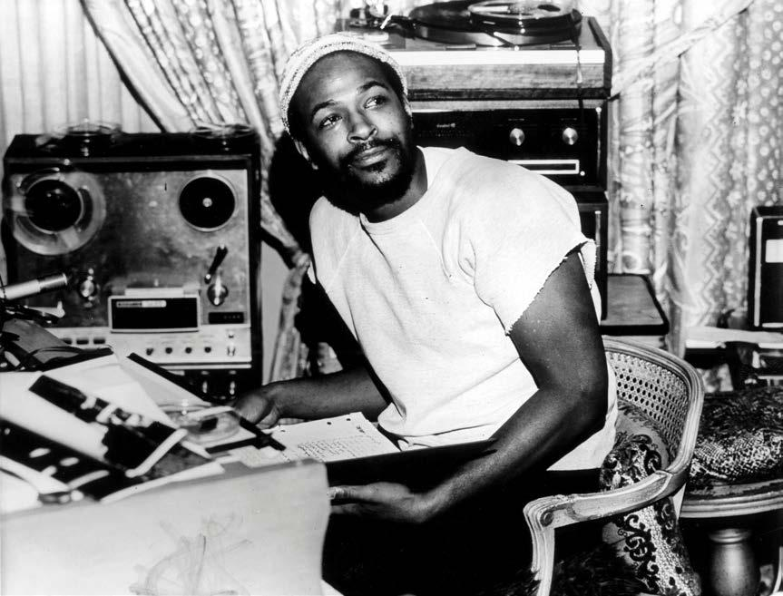 Marvin Gaye (1939-1984) Session musician Early pop style Social consciousness What s Going On (1971): Berry Gordy s