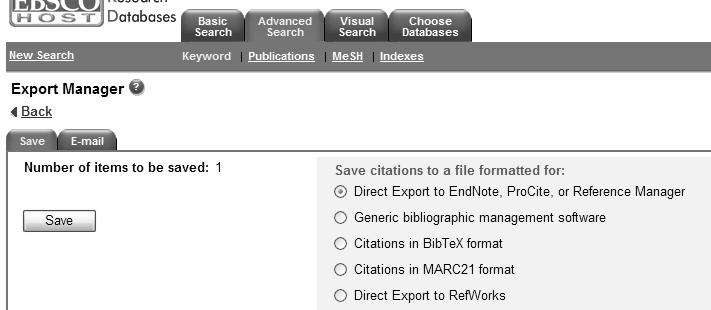 export reference Then click on save Ensure that