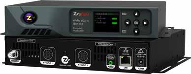 HD Digital MPEG2 Encoder / QAM Modulator YPrPb VGA In QAM Out series Get Going Guide ZvPro 600 Series is a one or two-channel Component or VGA-to-QAM MPEG 2 Encoder/