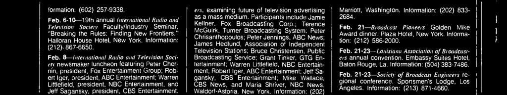 "12- ""Economic, Demographic and Technological Changes in Television Network News Coverage,"" course offered as part of Smithsonian Resident Associate Program's ""The Media and Society."