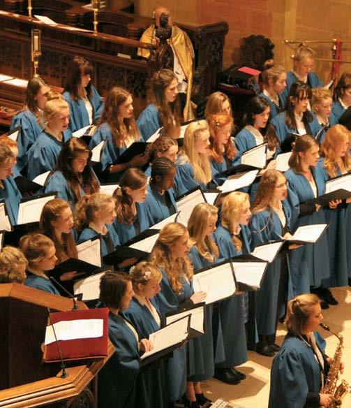 A tradition of musical excellence LEWESTON Situated just outside Sherborne in 46 acres of beautiful Dorset parkland, Leweston School offers a challenging and inspiring education to girls aged 3