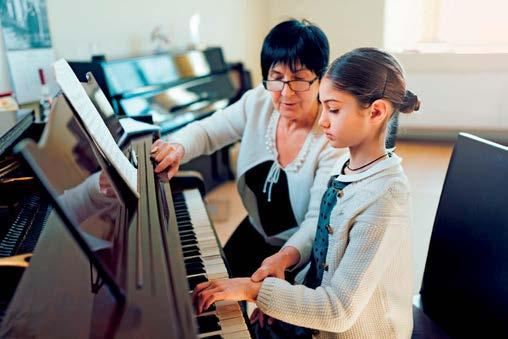 Getting started Learning the piano is a great way of developing musicianship The piano is also useful because, unlike some instruments, it is possible for even young children to play it.