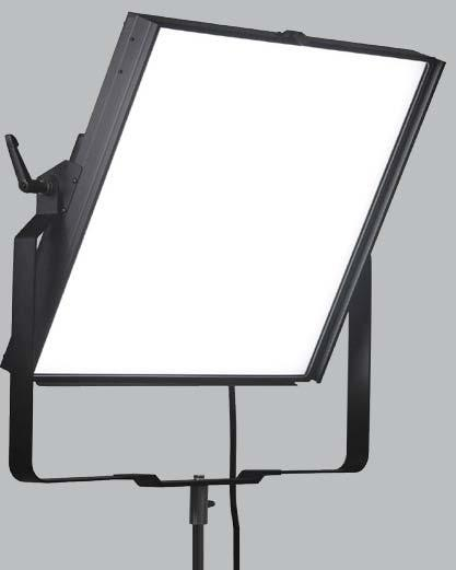 2x2 DUAL COLOR LED SOFTLIGHT HIGH COLOR RENDERING STUDIO LIGHT The Cinesoft 2x2 is a large source, variable color temperature, soft light for the cinematography, video broadcast, and professional