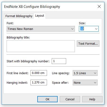 Formatting/Updating Citations and Bibliographies By default, EndNote is set to allow instant formatting - which means your newly inserted citation will be formatted immediately according to the