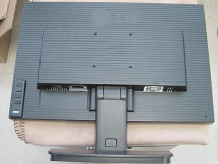 Installing the Wall mount plate This monitor satisfies the specifications of the