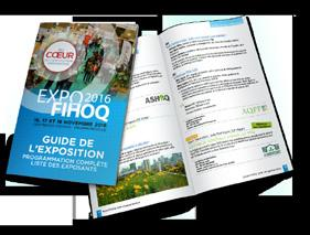 Get the most out of your Expo-FIHOQ participation OFFICIAL EXHIBITION GUIDE PROMOTE YOUR BUSINESS IN THE EXHIBITION GUIDE.