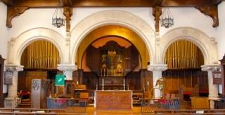 THE KATHERINE ESTERLY ORGAN at SsAM The music at the Episcopal Church of Saints Andrew and Matthew, during the services and at special events, is known to lift the spirits and nourish the souls of