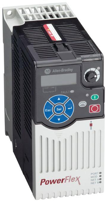 PowerFlex 525 AC drives feature an innovative, modular design offering fast and easy installation and configuration.