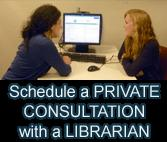 You can to discuss your research project. with a librarian We provide in-person consultations (at the Salve campus) or NEW Skype consultations (by appointment only).