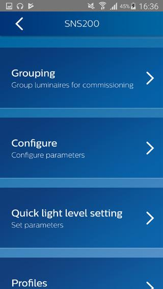 Add to group Add a luminaire 1. Open Add to Group sub-menu under Grouping menu 2.