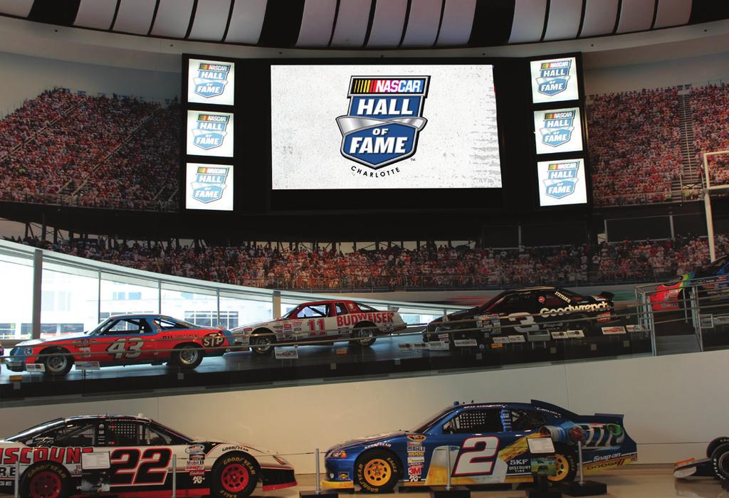 Great Hall Fan Billboard Video Board (24 W x 14 H) 30 Above the Floor Captivate your audience with powerful messaging in the Hall s primary gathering space.