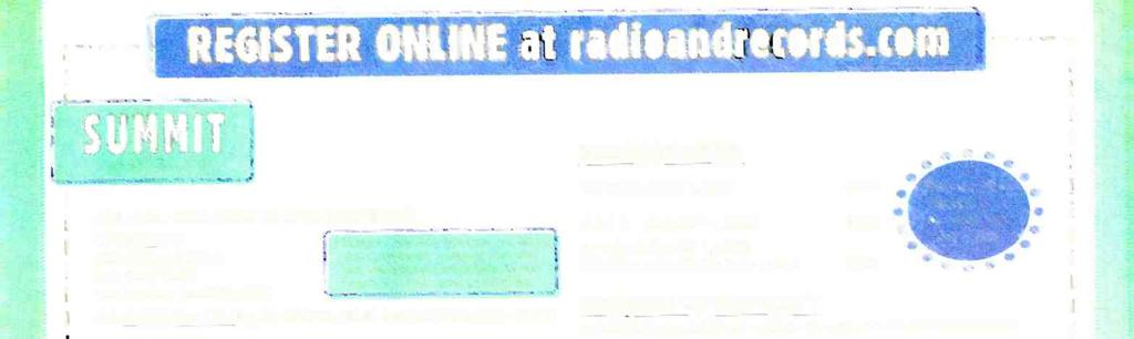 CA 90051-6708 OR REGISTER ONLINE AT www.radioandrecords.